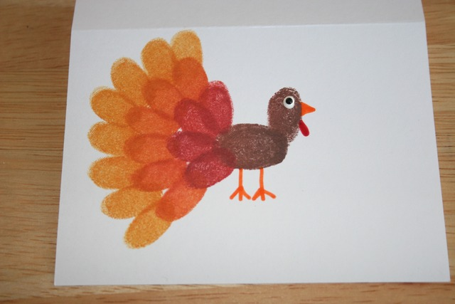 Fingerprint Turkeys - Side Step 3