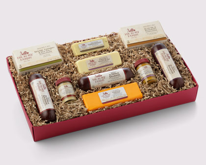 Hickory Farms Home for the Holidays Gift Box