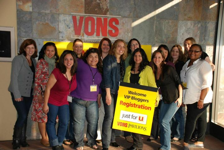 Vons Blogger Event