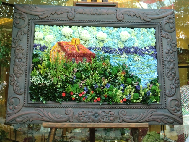Bellagio Conservatory Spring 2012 Floral Painting