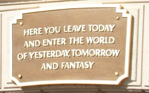 Here You Leave Today And Enter The World of Yesterday, Tomorrow and Fantasy